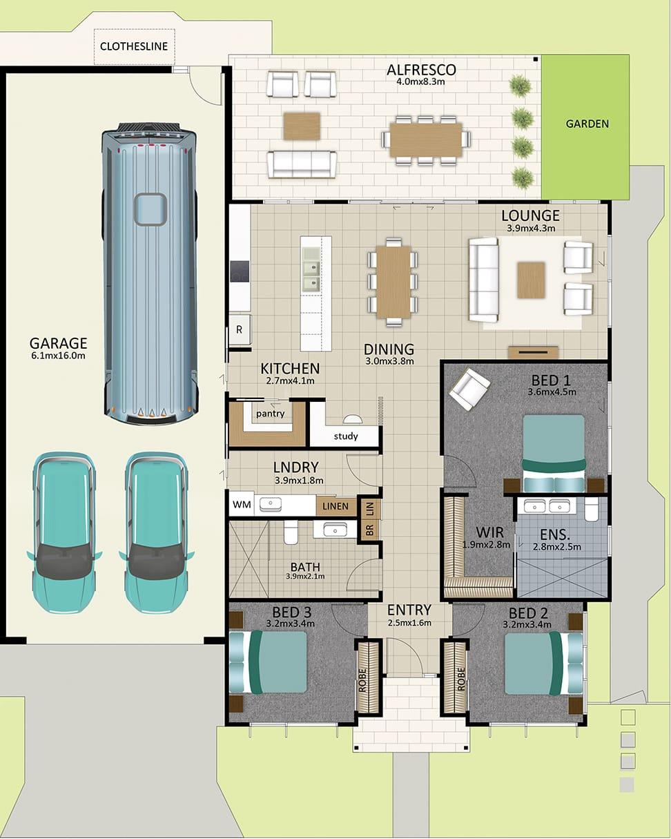 HR LAT25 Floorplan LOT 114 Bussell OCT19 v1 - Lot 114