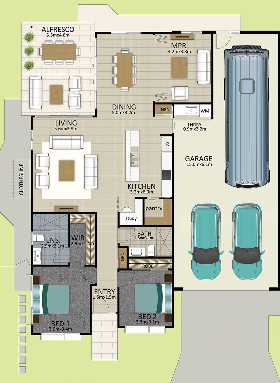 HR LAT25 Floorplan LOT 115 Pepper OCT19 V2 - Lot 115