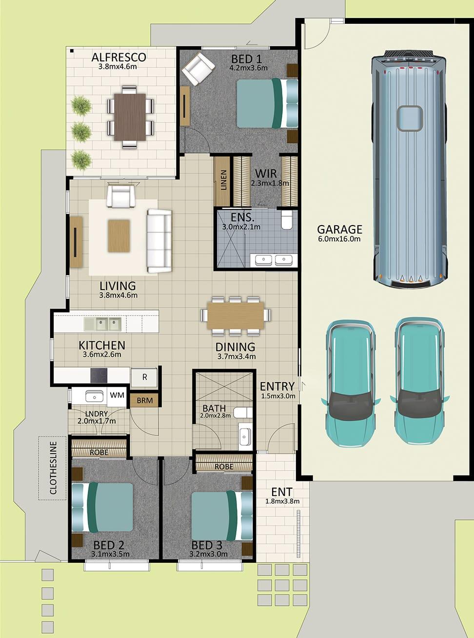 HR LAT25 Floorplan LOT 160 Watson OCT19 V1 - Lot 160