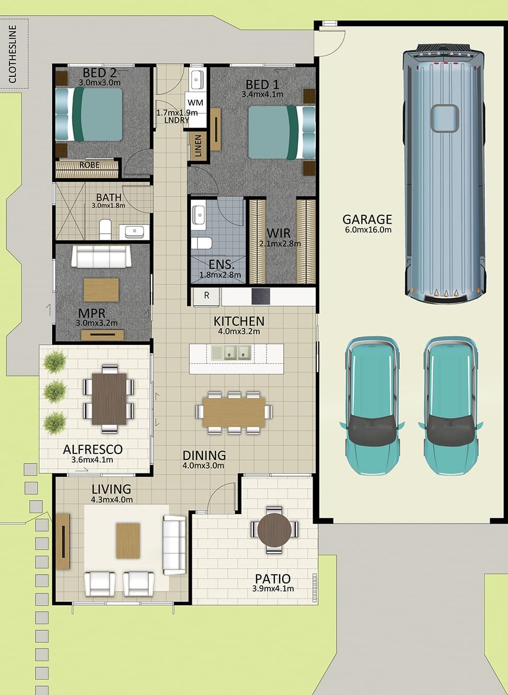 HR LAT25 Floorplan LOT 162 Kennard OCT19 V1 - Lot 162