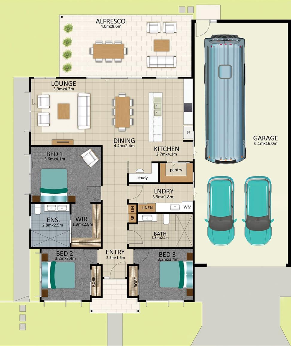 LAT25 Floorplan GAL OCT20 LOT 202 1 - Lot 202