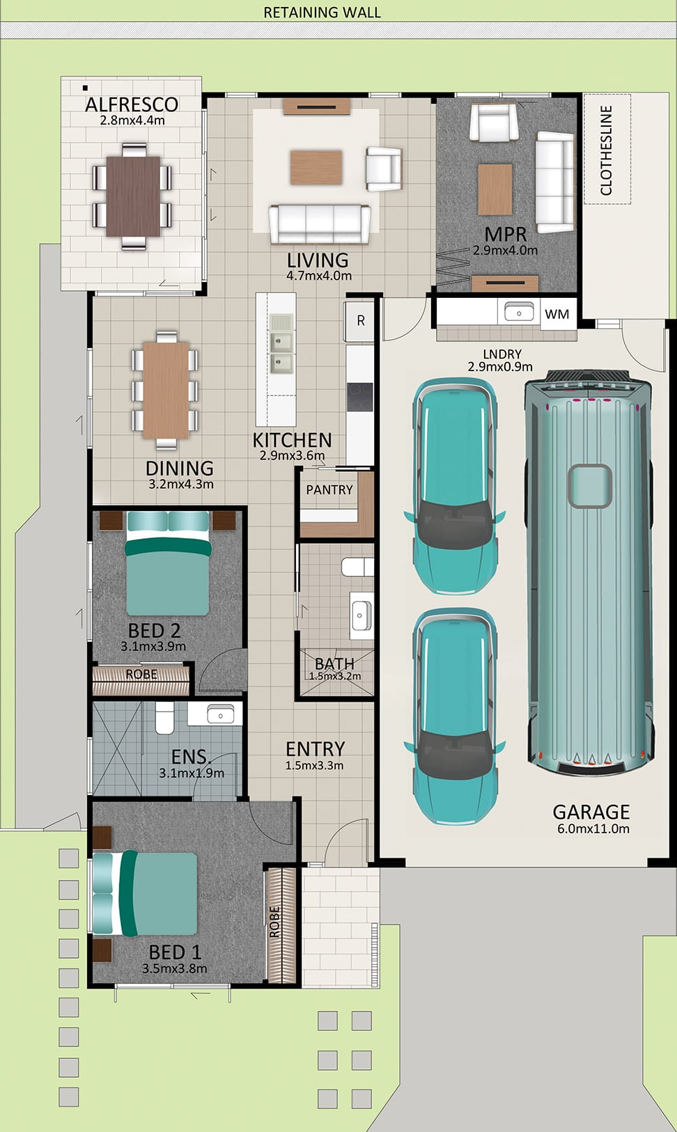 LAT25 Floorplan GAL OCT20 LOT 204 - Lot 204