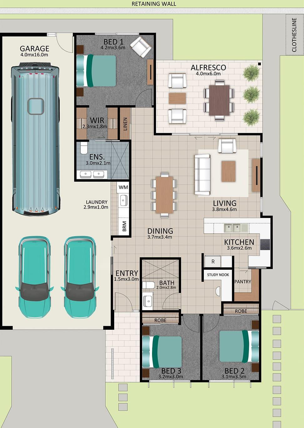 LAT25 Floorplan GAL OCT20 LOT 212 - Lot 212