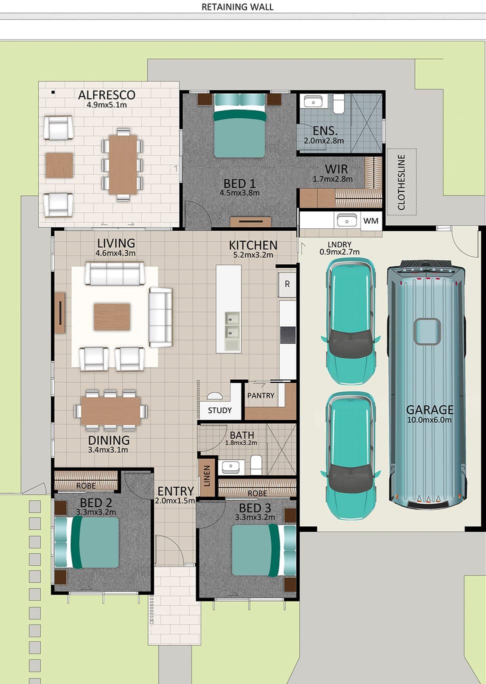 LAT25 Floorplan GAL OCT20 LOT 213 - Lot 213