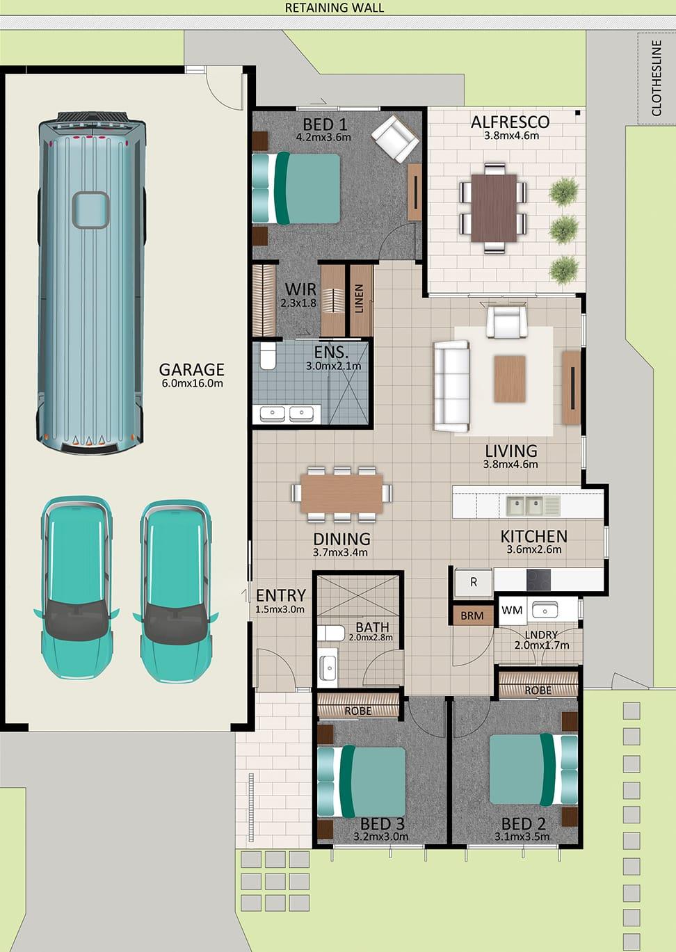 LAT25 Floorplan GAL OCT20 LOT 214 - Lot 214