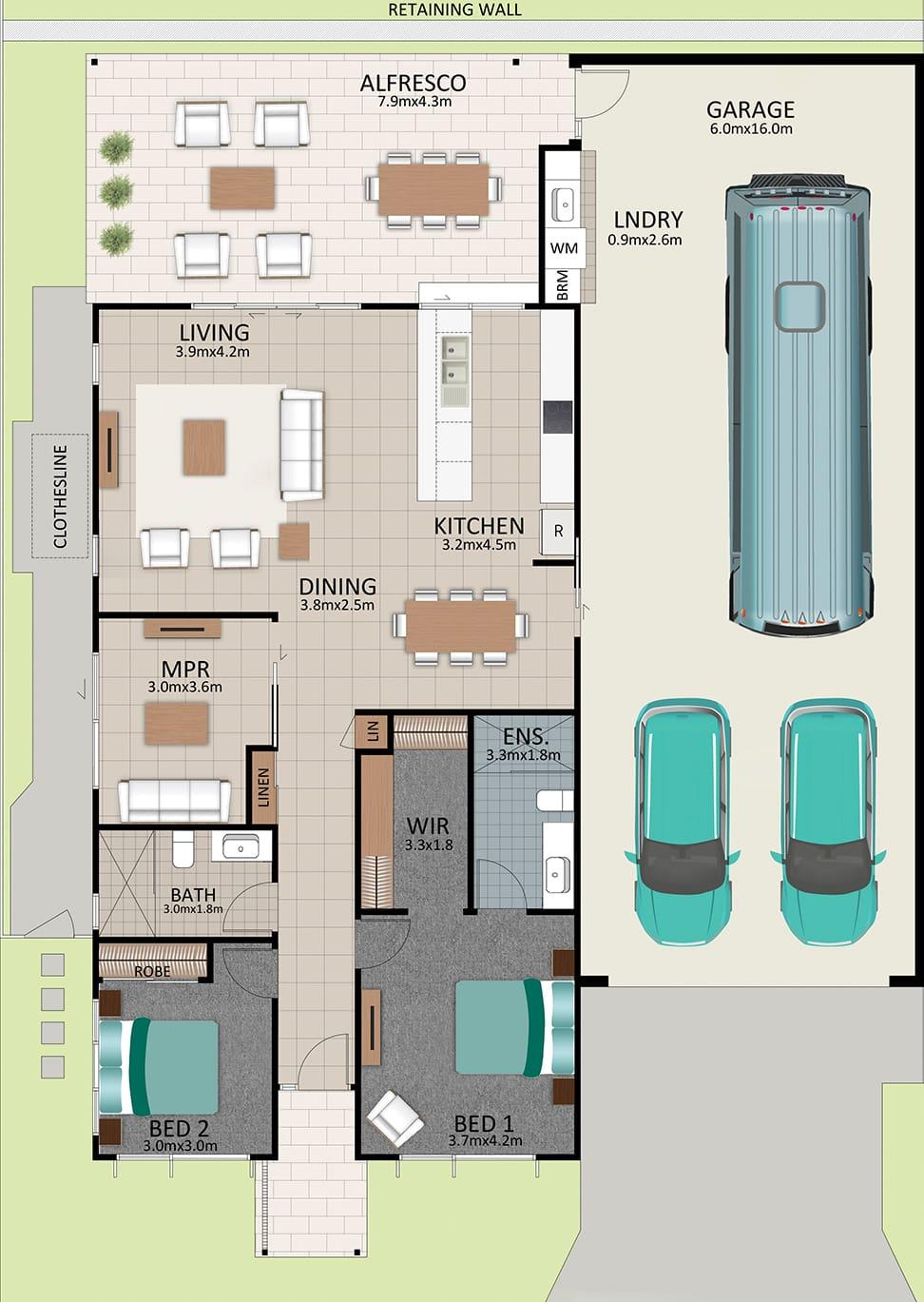 LAT25 Floorplan GAL OCT20 LOT 216 - Lot 216