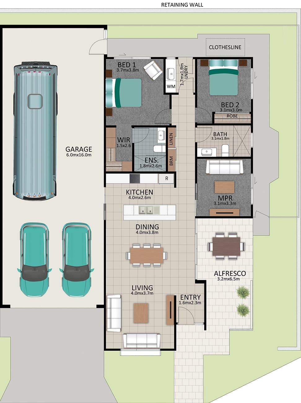 LAT25 Floorplan GAL OCT20 LOT 217 - Lot 217