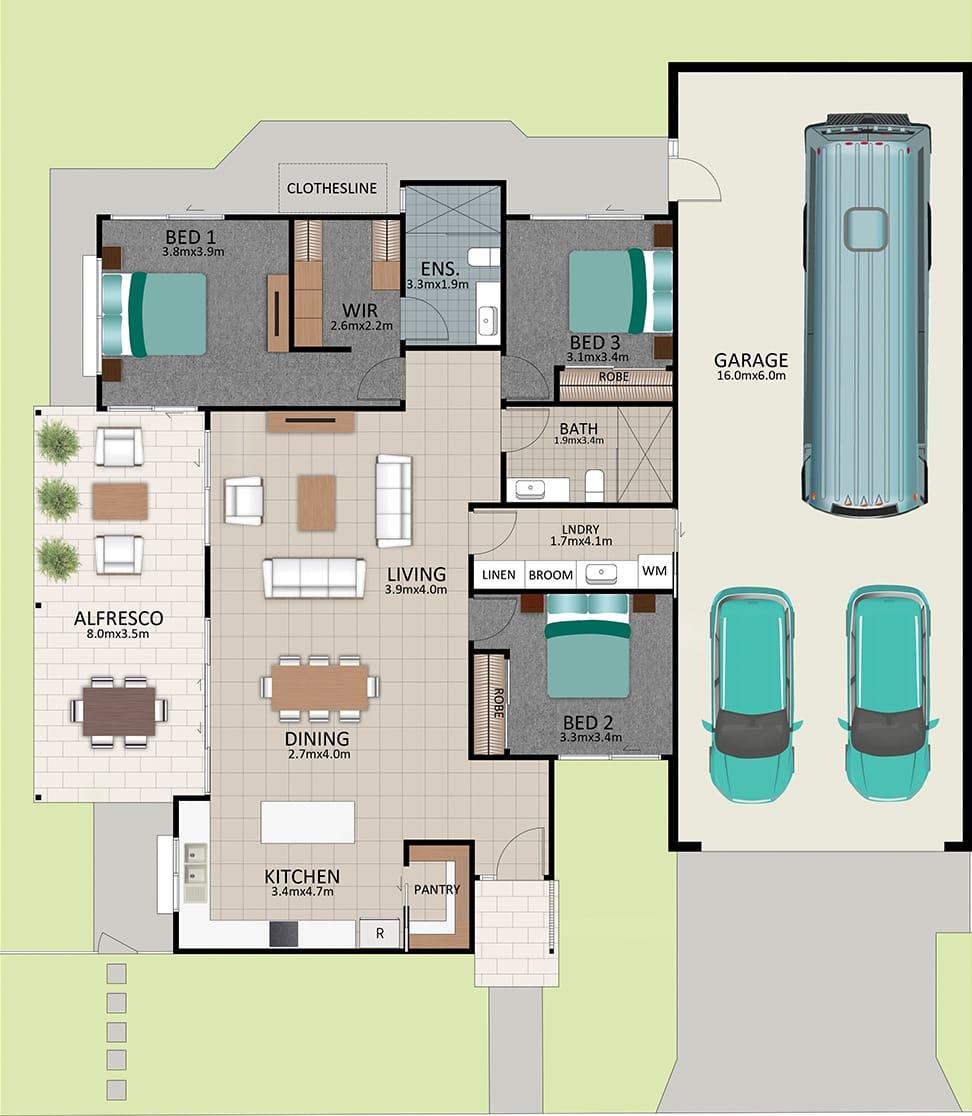 LAT25 Floorplan GAL OCT20 LOT 218 - Lot 218