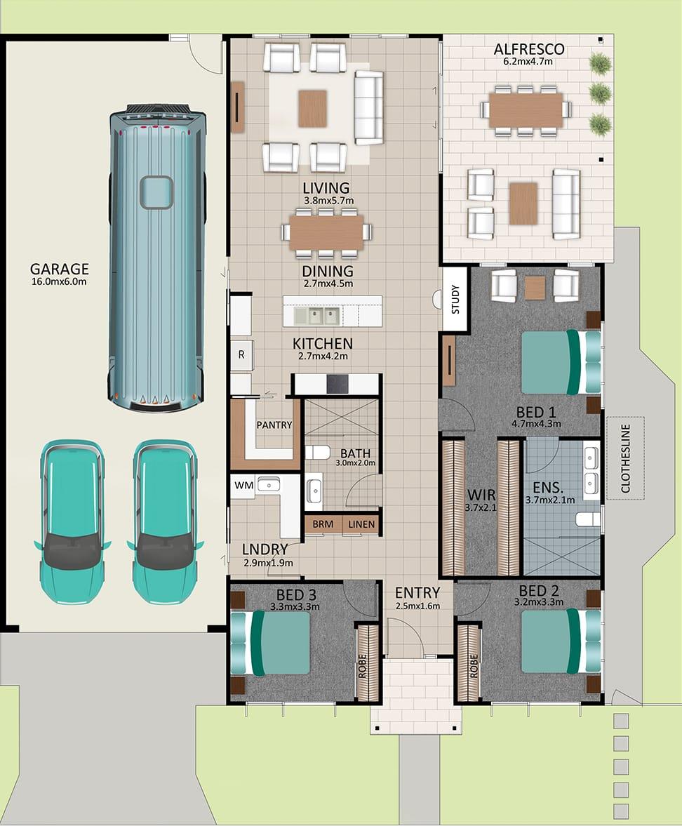 LAT25 Floorplan GAL OCT20 LOT 219 - Lot 219