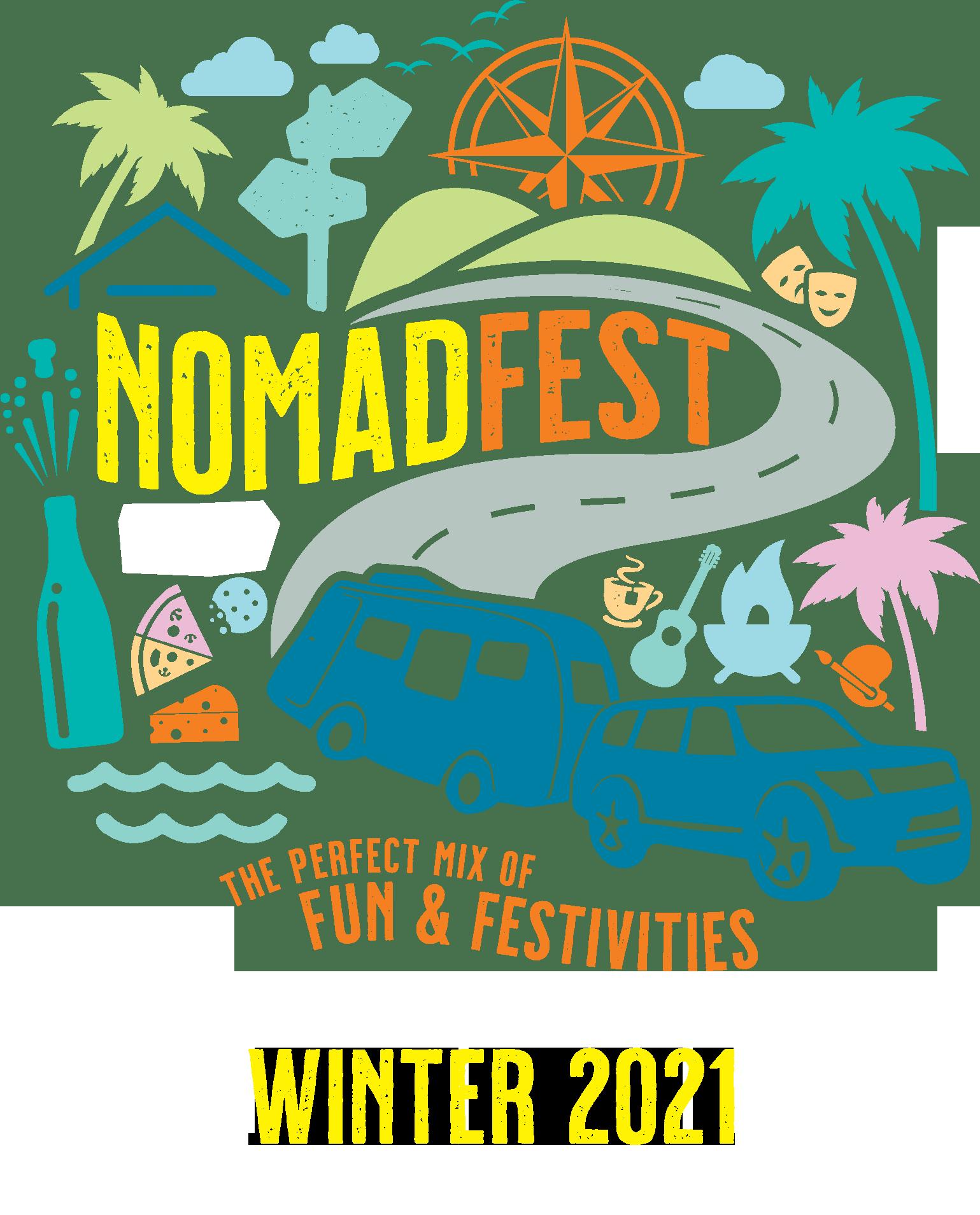 LAT25 NOMADFEST PAGE HERO LOGO WINTER2021 - NomadFest