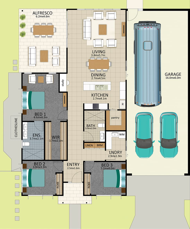 LR WEB LAT25 Floorplan Earhart FEB19 - Lot 98