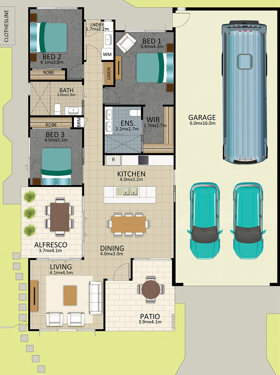 LR WEB LAT25 Floorplan Kennard FEB2019 - Lot 113