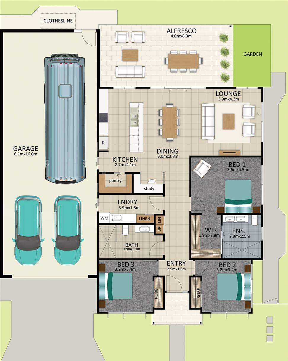 LR WEB LAT25 Floorplan LOT 114 165 Bussell JUL19 v1 - Lot 114