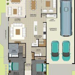 LR WEB LAT25 Floorplan LOT 115 Pepper JUL19 V2 250x250 - Lot 115