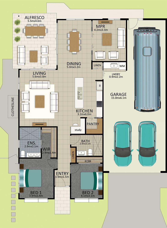 LR WEB LAT25 Floorplan LOT 115 Pepper JUL19 V2 - Lot 115