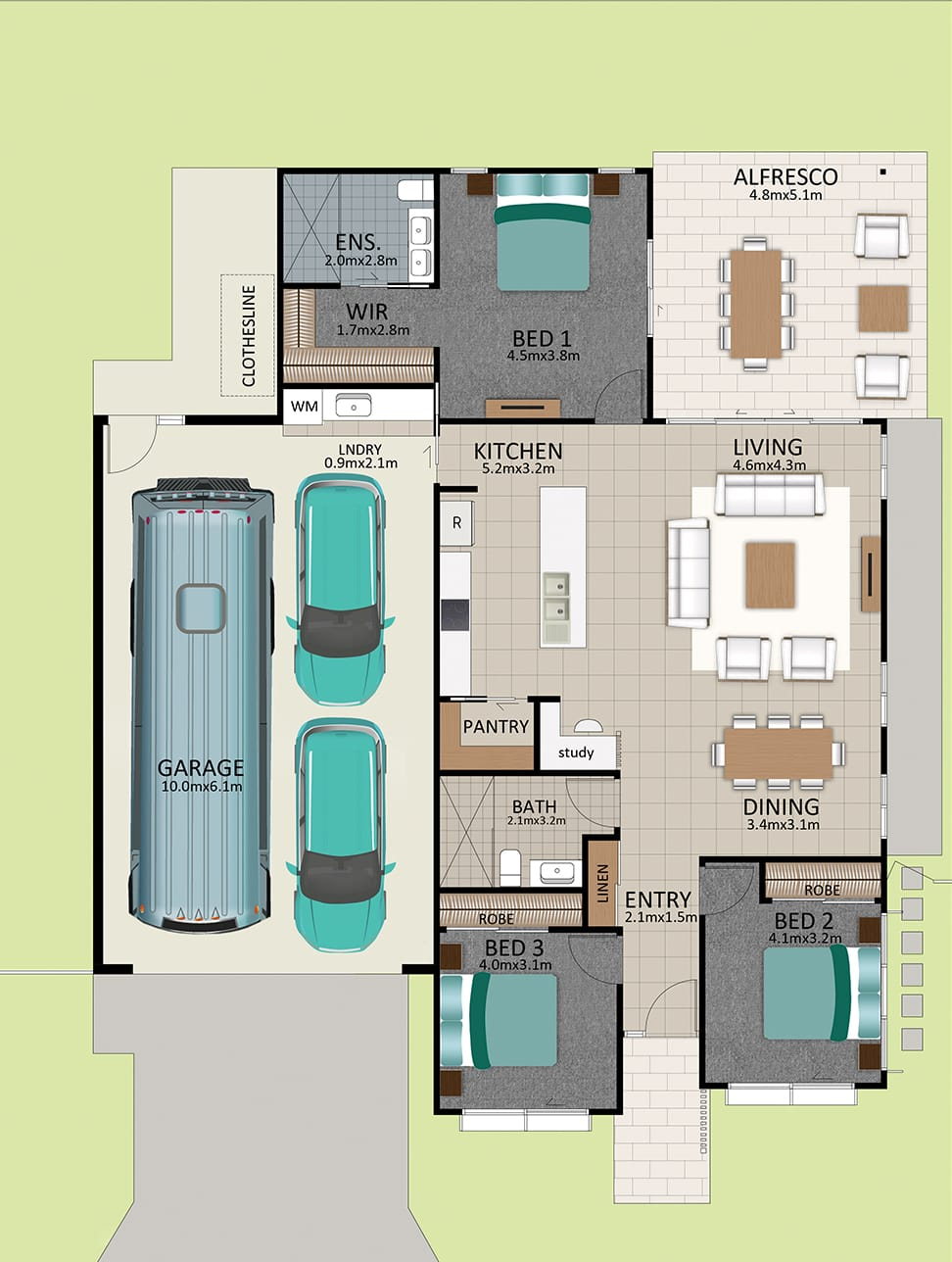 LR WEB LAT25 Floorplan LOT 161 Robson Mirrored JUL19 V1 - Lot 161