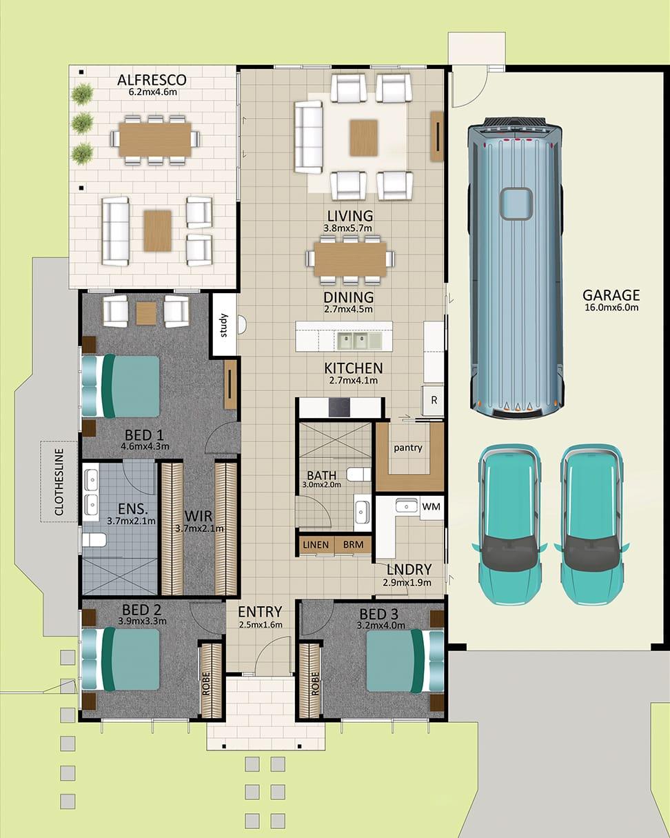 LR WEB LAT25 Floorplan LOT 166 169 Earhart JUL19 V2 - Lot 166