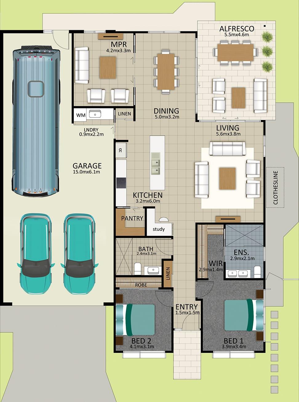 LR WEB LAT25 Floorplan LOT 167 Pepper JUL19 V2 - Lot 167