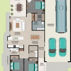 LR WEB LAT25 Floorplan LOT 174 Watson NOV19 V1 250x250 - Lot 174