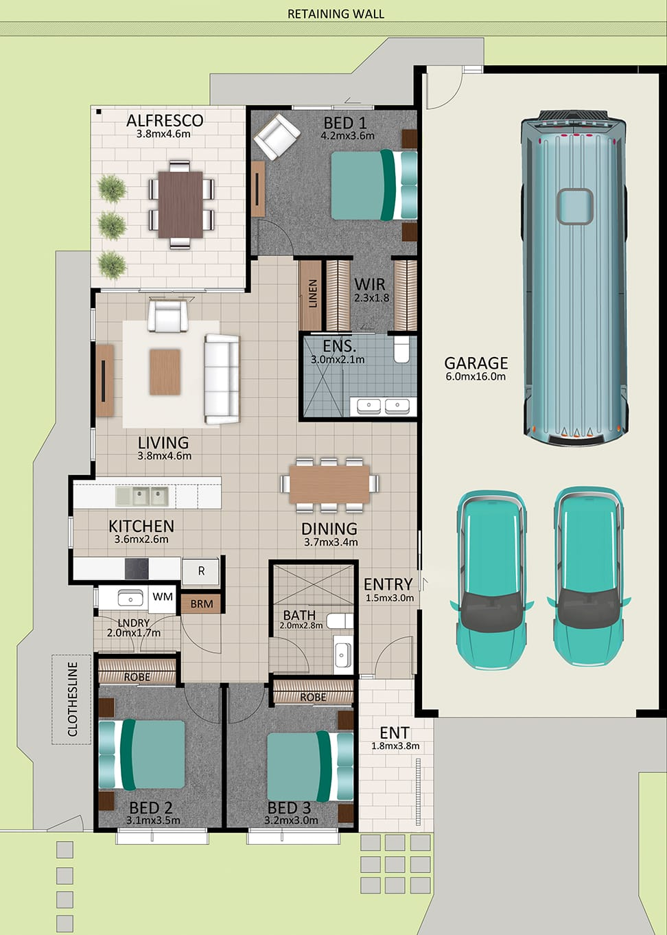LR WEB LAT25 Floorplan LOT 174 Watson NOV19 V1 - Lot 174