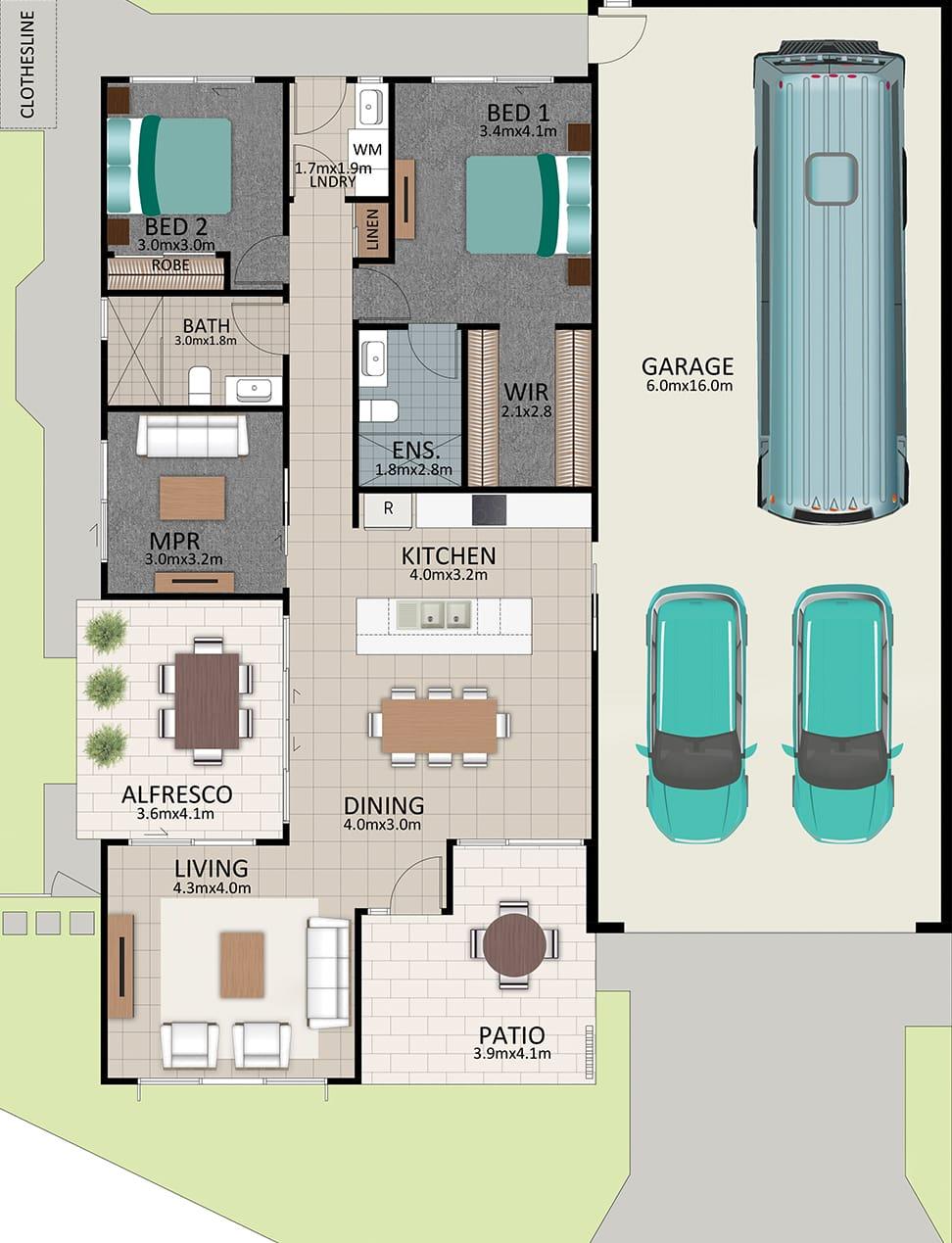 LR WEB LAT25 Floorplan LOT 177 Kennard NOV19 V1 - Lot 177