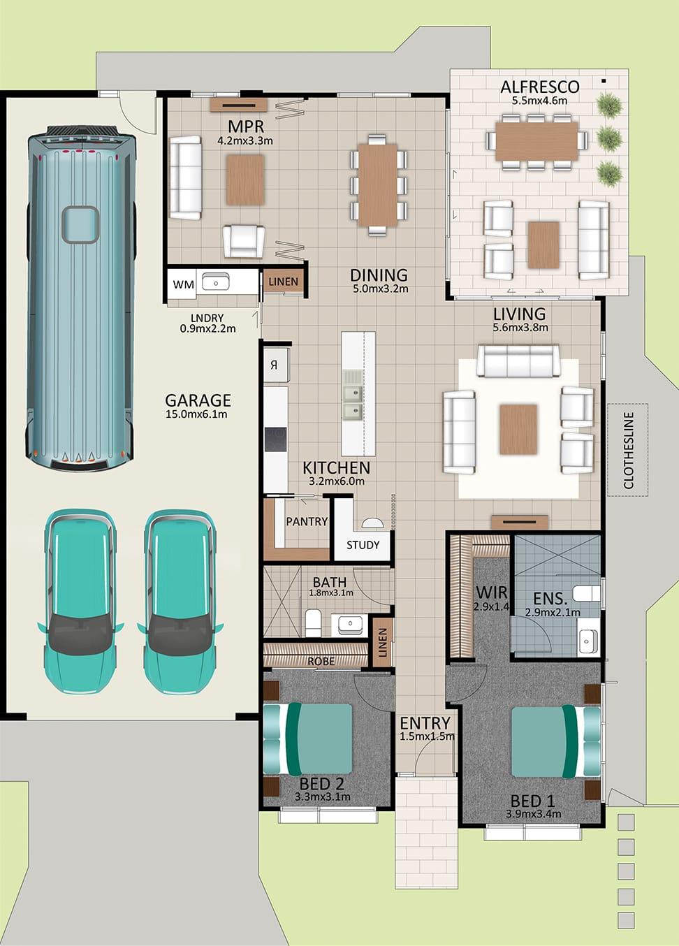 LR WEB LAT25 Floorplan LOT 178 Pepper NOV19 V1 - Lot 178