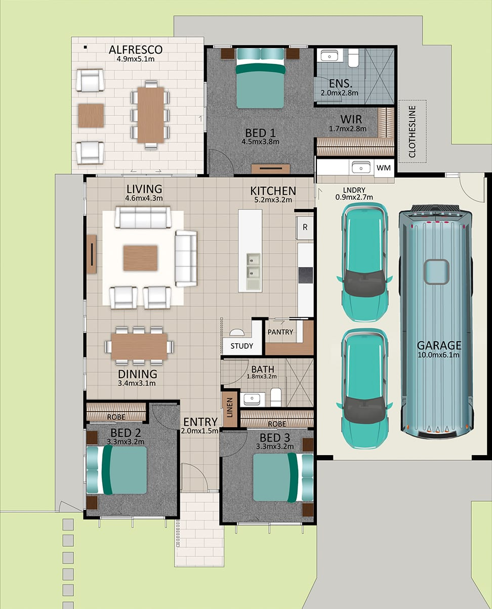 LR WEB LAT25 Floorplan LOT 179 Robson NOV19 V1 - Lot 179