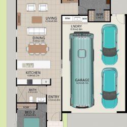 LR WEB LAT25 Floorplan LOT 181 Davidson NOV19 V1 250x250 - Lot 170