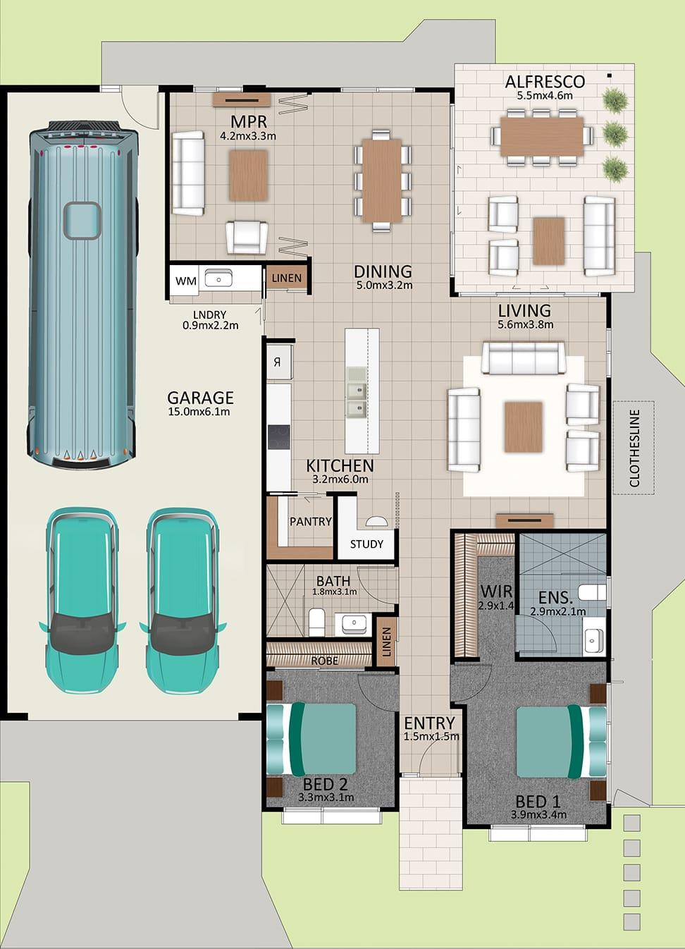 LR WEB LAT25 Floorplan LOT 182 Pepper NOV19 V1 - Lot 182
