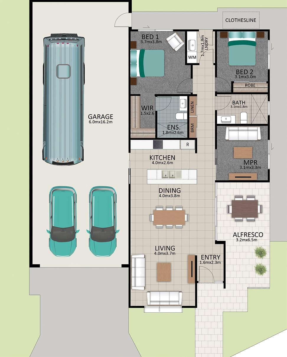 LR WEB LAT25 Floorplan LOT 185 Walton NOV19 V1 - Lot 185