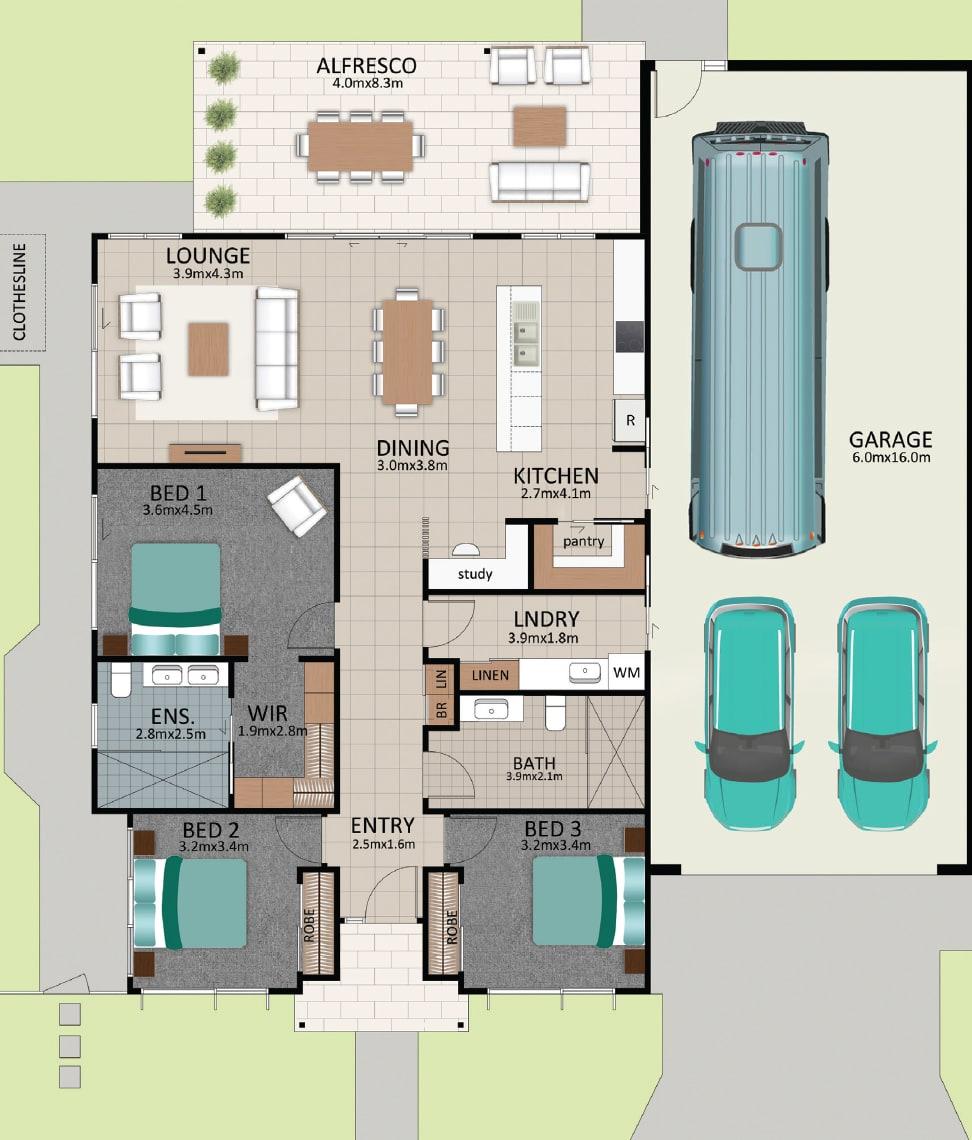 LAT25 Floorplan GAL LOT 220 FEB2021 V1 - Lot 220