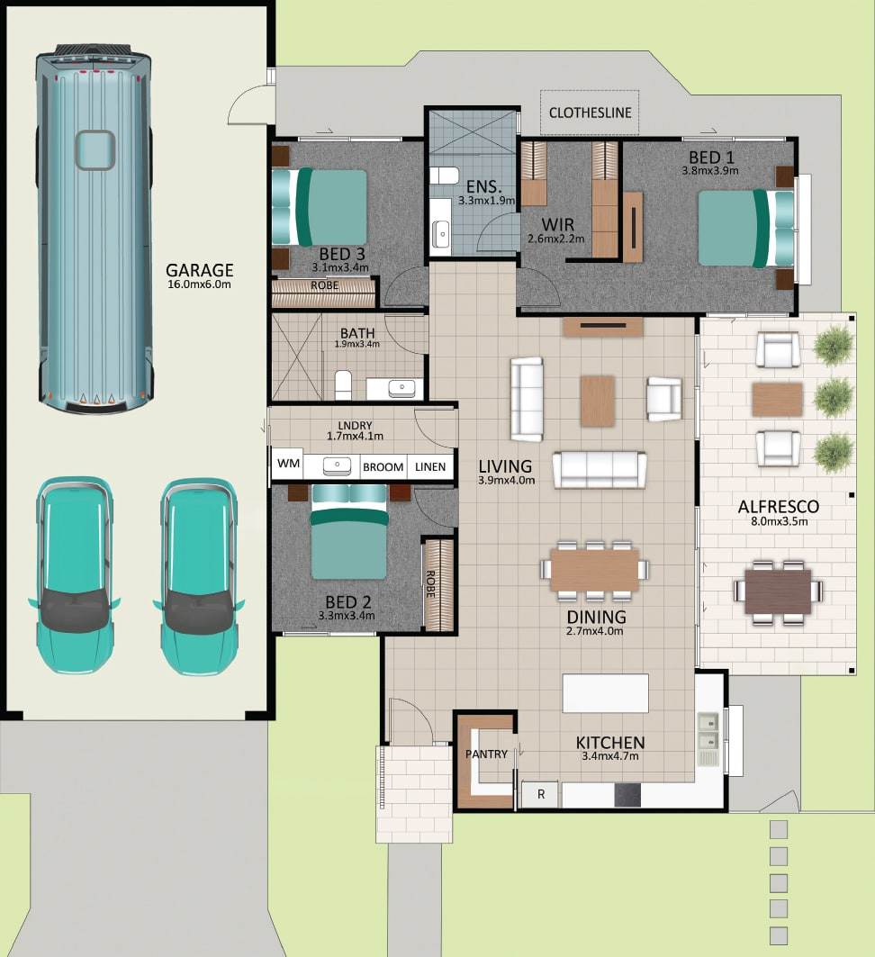 LAT25 Floorplan GAL LOT 221 FEB2021 V1 - Lot 221