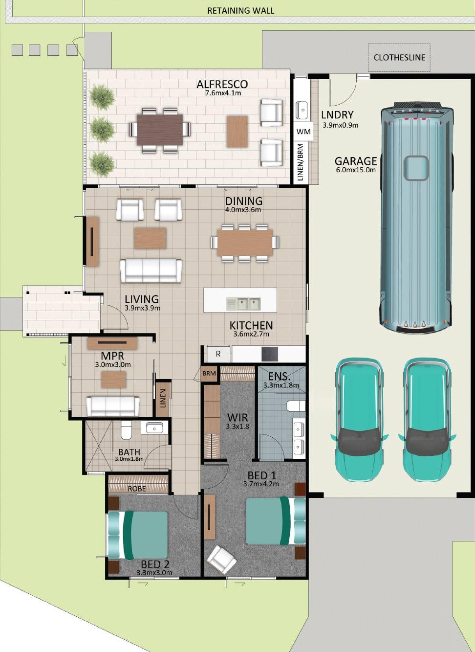 LAT25 Floorplan GAL LOT 222 FEB2021 V1 - Lot 222