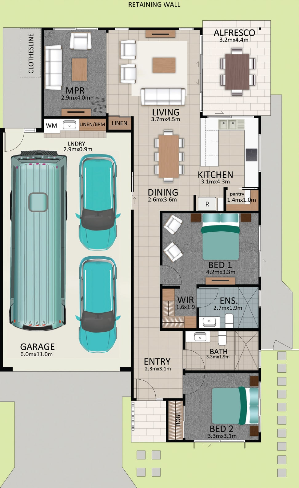 LAT25 Floorplan GAL LOT 224 FEB2021 V1 - Lot 224