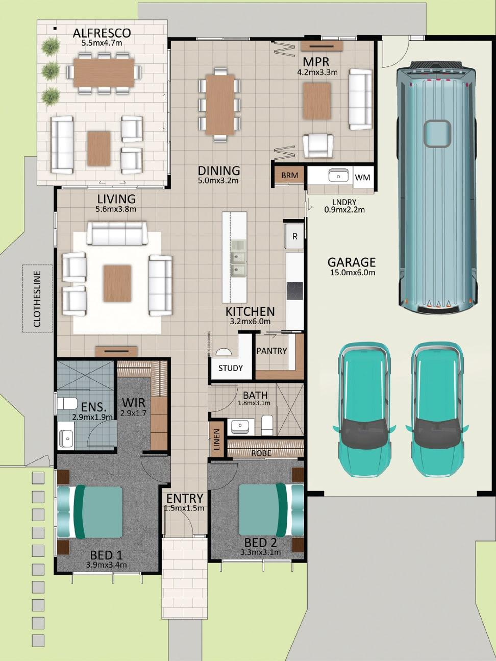 LAT25 Floorplan GAL LOT 225 FEB2021 V1 - Lot 225