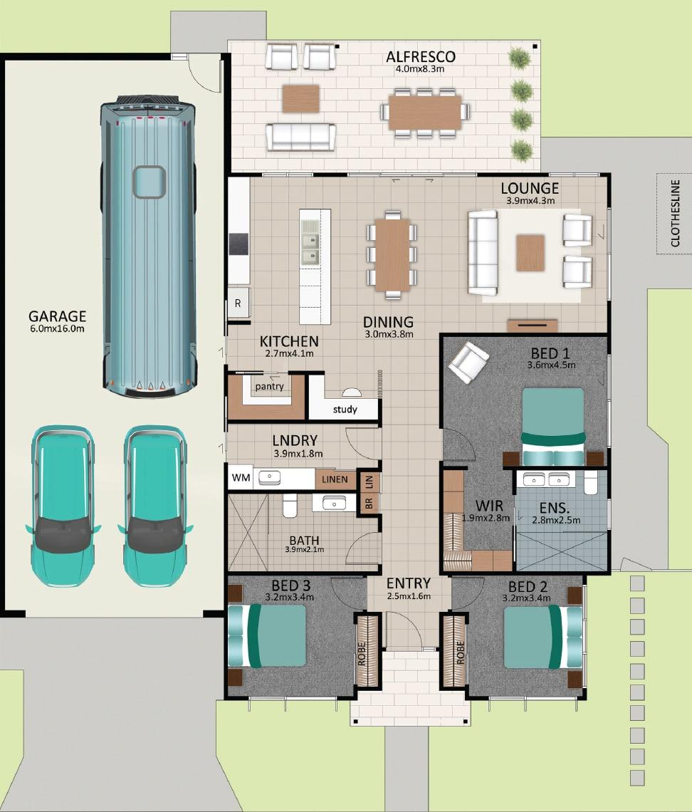 LAT25 Floorplan GAL LOT 226 FEB2021 V1 - Lot 226