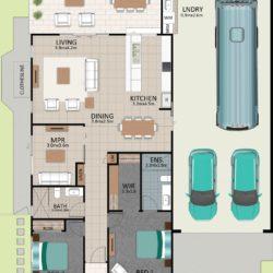 LAT25 Floorplan GAL LOT 227 FEB2021 V1 250x250 - Lot 227