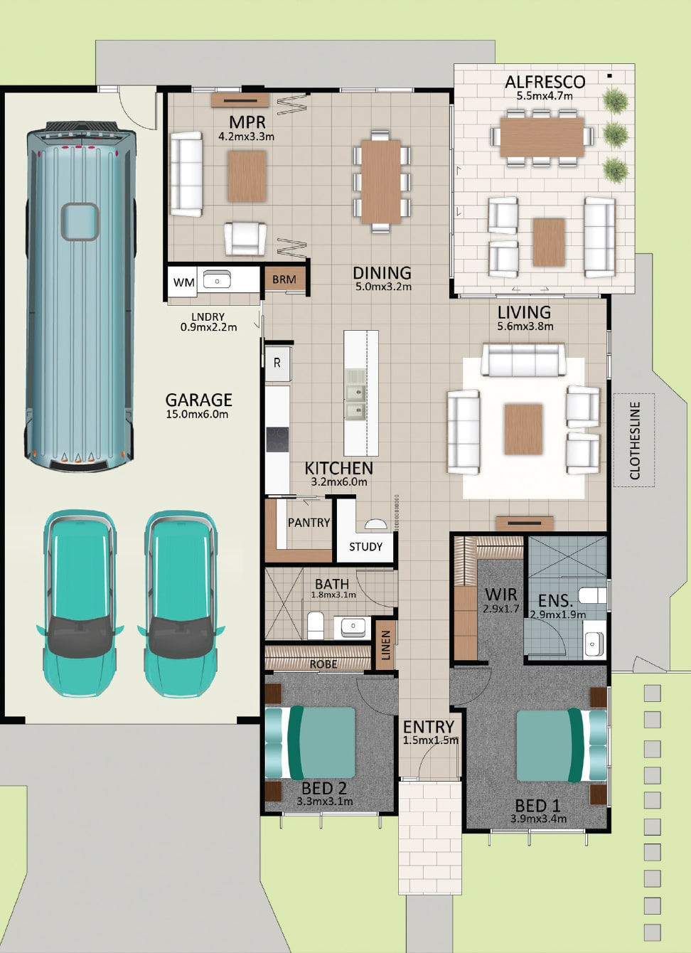 LAT25 Floorplan GAL LOT 228 FEB2021 V1 - Lot 228