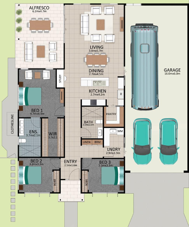 LAT25 Floorplan GAL LOT 229 FEB2021 V1 - Lot 229