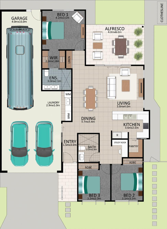 LAT25 Floorplan GAL LOT 230 FEB2021 V1 - Lot 230
