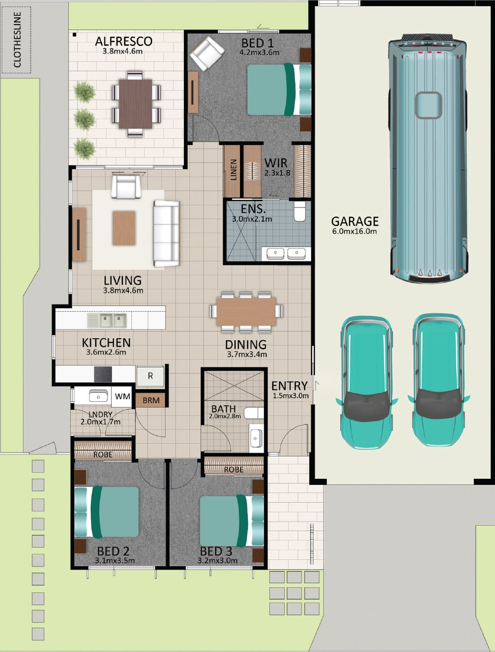 LAT25 Floorplan GAL LOT 231 FEB2021 V1 - Lot 231