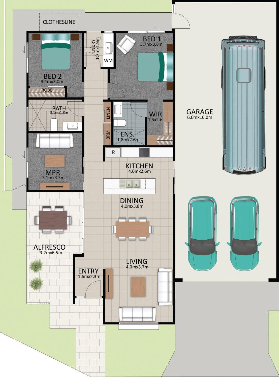 LAT25 Floorplan GAL LOT 233 FEB2021 V1 - Lot 233