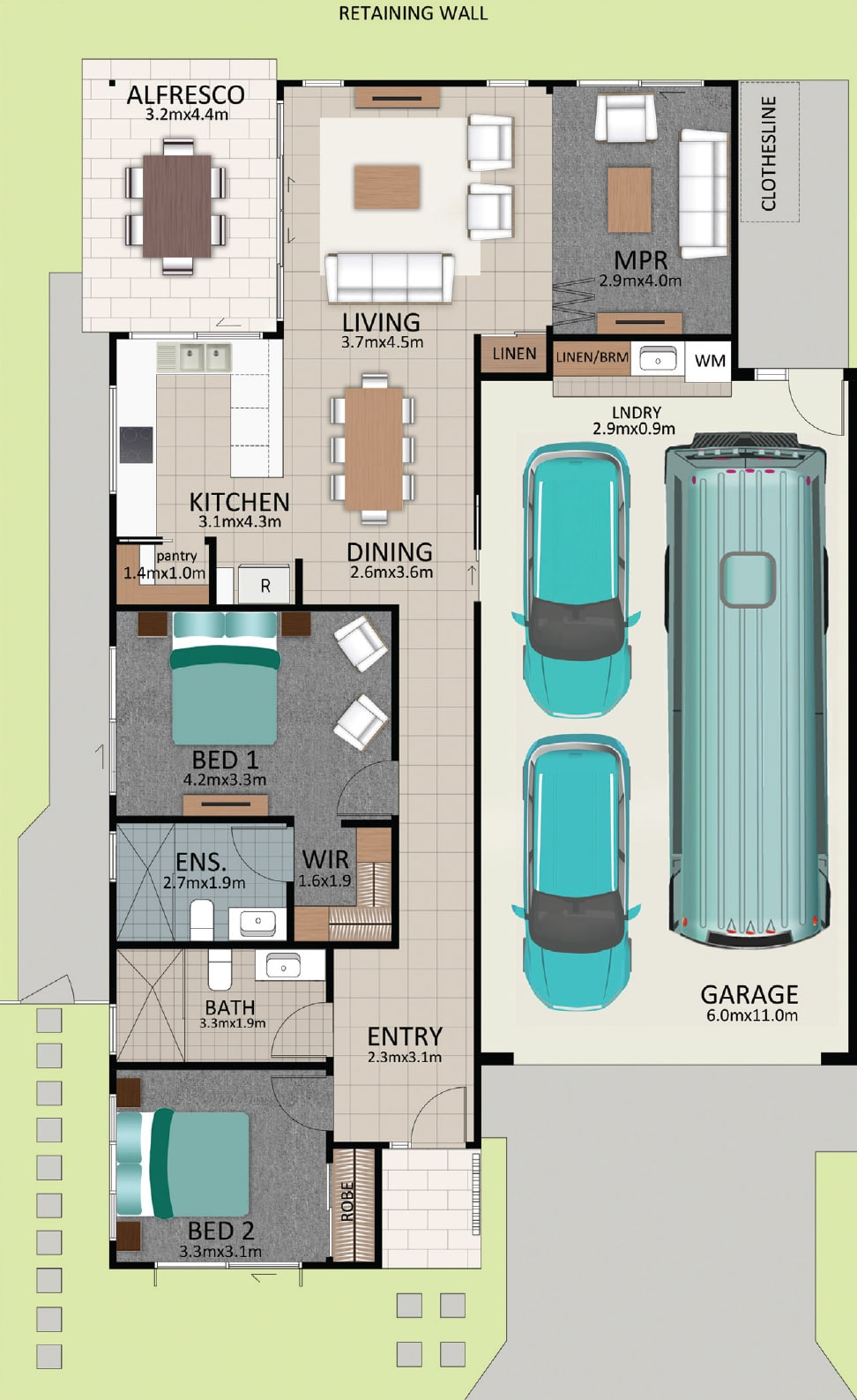 LAT25 Floorplan GAL LOT 235 FEB2021 V1 - Lot 235
