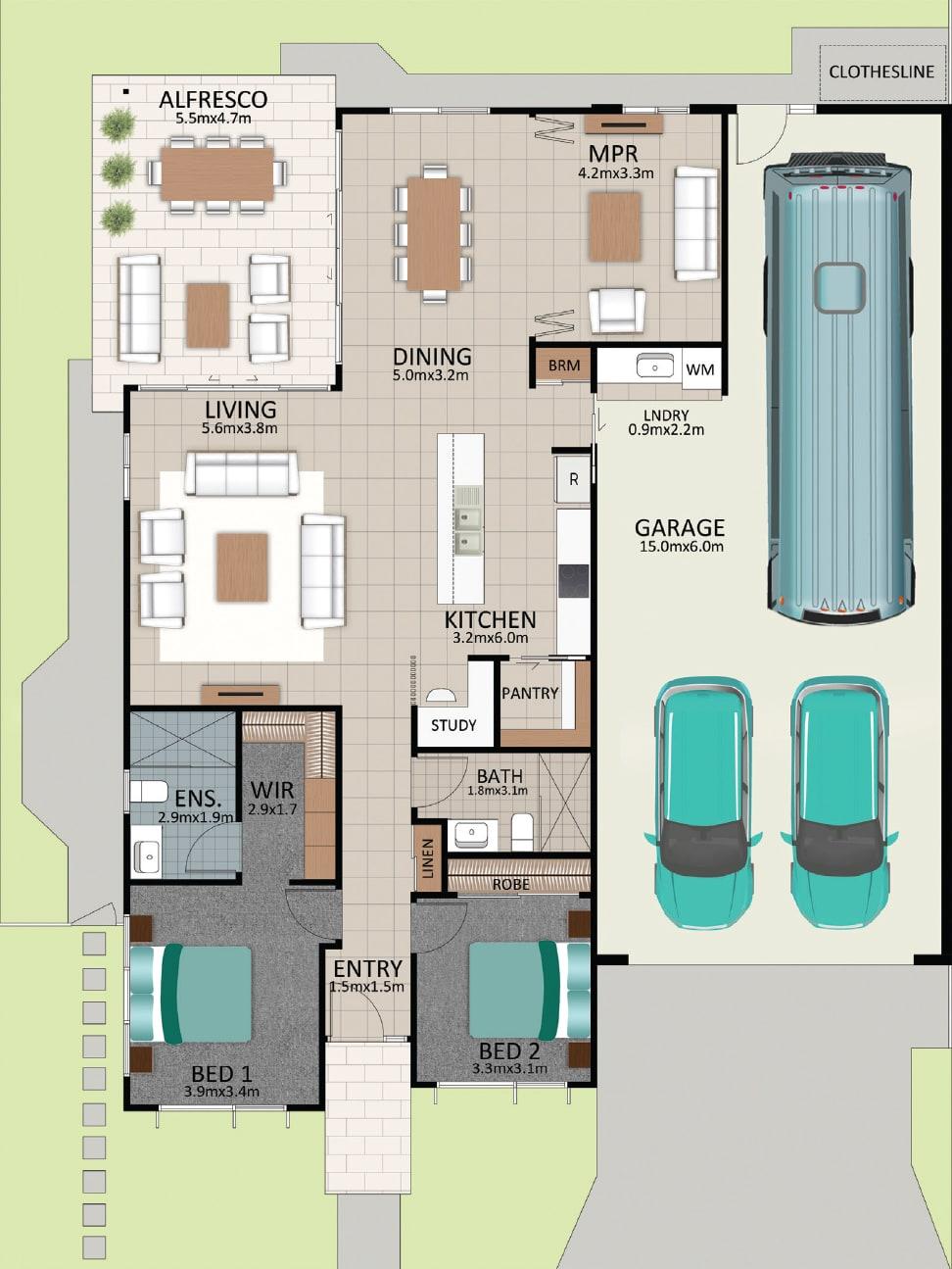 LAT25 Floorplan GAL LOT 236 FEB2021 V1 - Lot 236